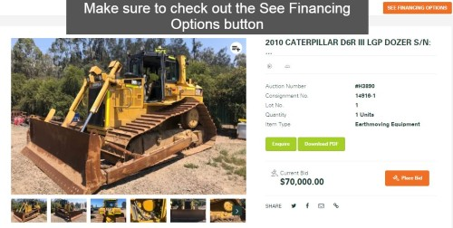 Example of an Slattery Auction Asset